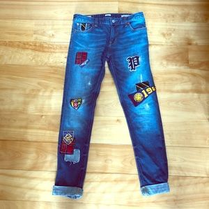 Polo Ralph Lauren Kids patched Jeans.